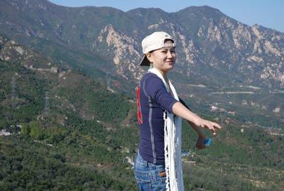 北京女孩--小云; 90后小云的旅游生活照-连环画频道; 女孩小云