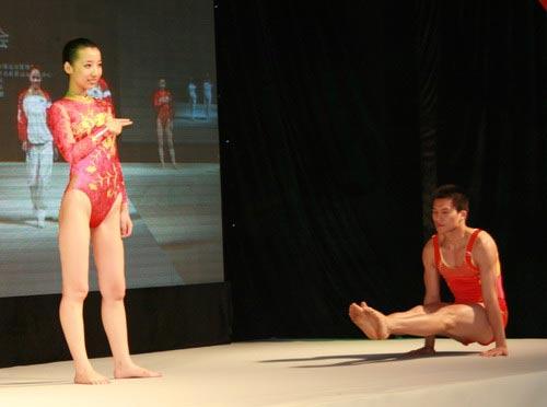 海绵:李宁公布奥运服装中国体操队比赛服2-搜狐体育宝宝图文空手道多杀集图片
