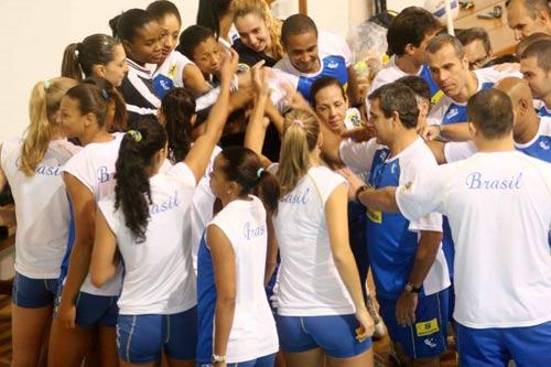 巴西女排全力冲击奥运金牌