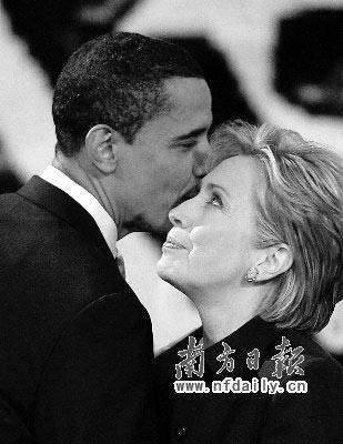 奥巴马希拉里能否实现和解,联手向白宫迈进成最大悬念。本版图文均据新华社