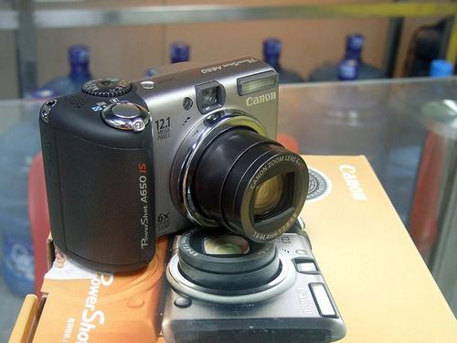 大变焦全手动带防抖 佳能A650 IS优惠促销