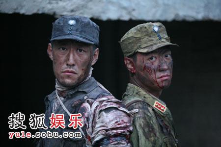 《中国兄弟连》中辛柏青和于震