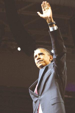 奥巴马初选后首次公开讲话