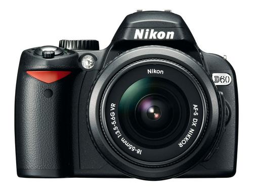 配18-135mm镜头 尼康入门单反D60超值促销