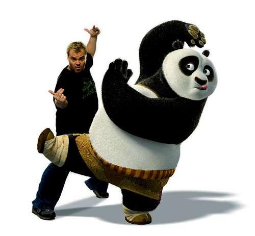 积伯克在《功夫熊猫》放笑弹