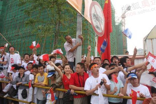广西的热情市民