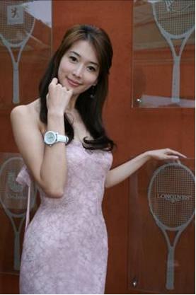 图文:林志玲观法网气质迷人