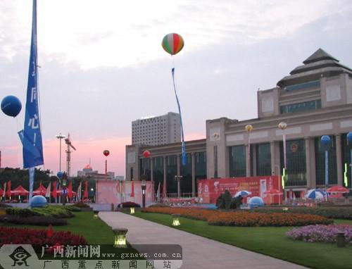 起跑地点南宁民族广场