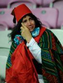 图文:欧洲杯葡萄牙2-0土耳其  流泪的土队球迷