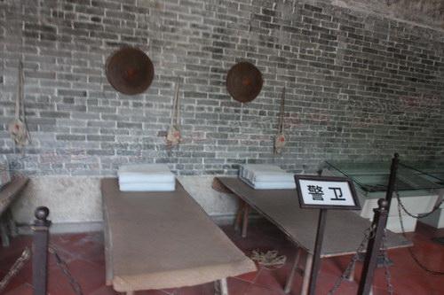 6--5--中国工农红军第七军军部的警卫室,