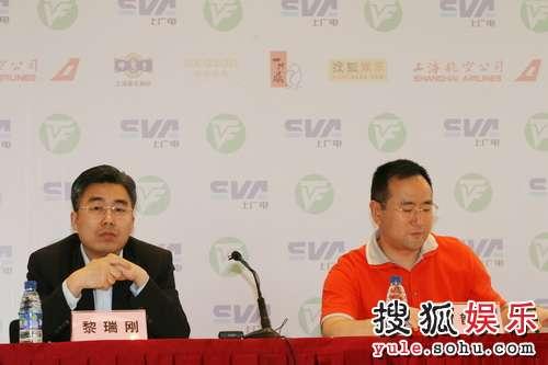 上文广新闻传媒集团副总裁高韵斐