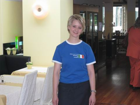 美丽的酒店女老板