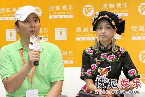 制片人白玉与天仙妹妹
