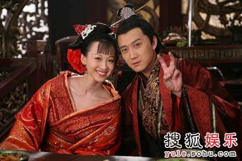 《母仪天下》剧组,出演了一位命运波折颇有悲剧色彩的人物——许娥