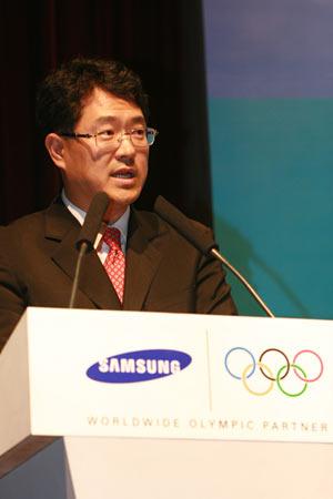 三星电子全球体育事务及公共关系副总裁权桂贤