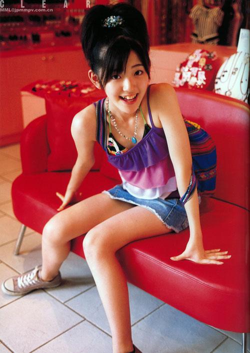 组图:90后日本小女星铃木爱理《clear》写真 搜狐