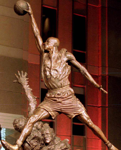 乔丹已成为篮球之神