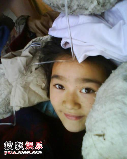 地震中展露最美的微笑