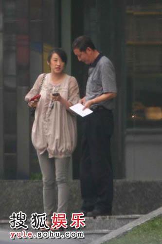 陈坚红与老员工离开公司