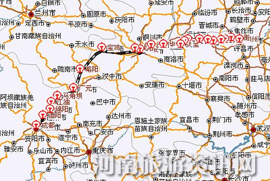 火车站发布公告说,从6月8日起,郑州—成都1097次恢复正常运行,线路和