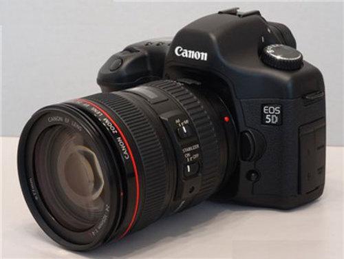 佳能5D配红圈镜头 超强悍单反套机降价