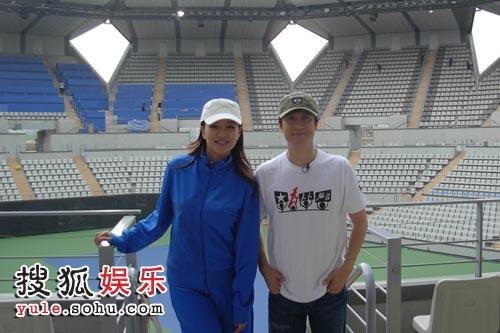 网球馆内景