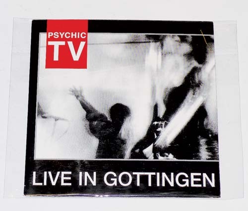 Psychic TV《Live In Gottingen》港币80元