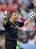 图文:捷克1-3葡萄牙 里卡多呼喊