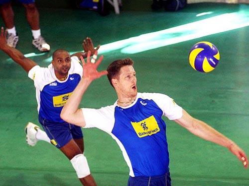 巴西男排备战奥运