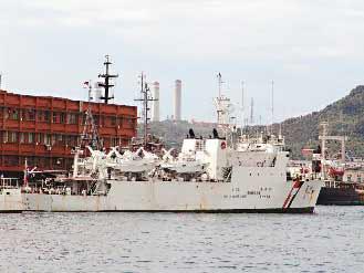 和星舰10日上午进入钓鱼岛12浬内,与日本海上保安厅巡逻舰对峙一个多小时