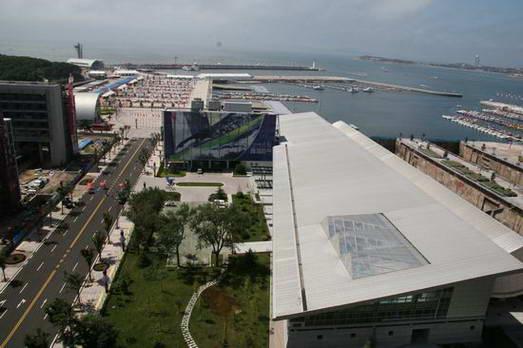 图文:青岛奥林匹克帆船 行政与比赛管理中心
