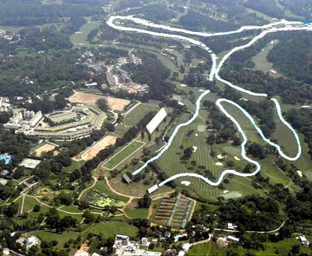 图文:08年香港奥运马术比赛场(双鱼河)