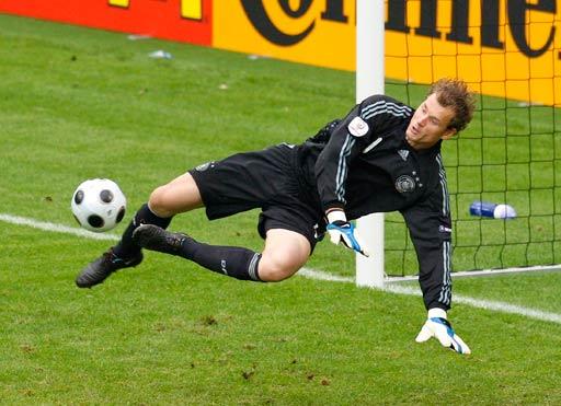 图文:德国1-2克罗地亚 莱曼扑救