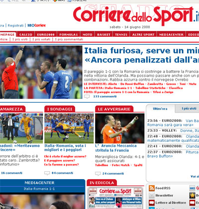 罗马体育报截屏
