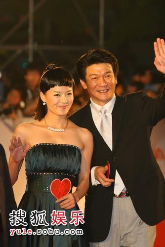 组图:第十一届上海国际电影节爱心大道