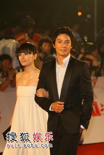 图:第11届上海国际电影节 嘉宾亮相爱心通道