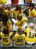 图文:[欧洲杯]西班牙VS瑞典 瑞典后宫场助威