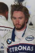 图文:F1西班牙试车第三日 海德英姿勃发