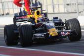 图文:F1西班牙试车第三日 韦伯在比赛中