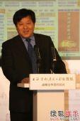 图:上影集团副总裁许朋乐在签约仪式上致辞