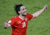 图文:[欧洲杯]葡萄牙VS瑞士 英雄雅辛