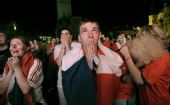 图文:[欧洲杯]土耳其逆转捷克 球迷祈福