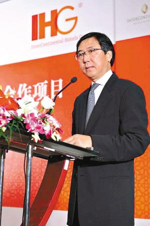 洲际酒店集团大中华区执行总裁叶海华。