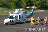直升机成日本地震灾区救援主力(组图)