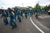 (国际)(3)日本各地救援人员增援地震灾区