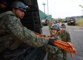 (国际)(2)日本各地救援人员增援地震灾区