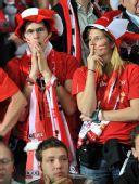 图文:德国1-0胜奥地利 奥地利球迷神情黯然