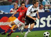 图文:德国1-0胜奥地利 拉姆带球进攻
