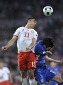 图文:克罗地亚1-0波兰 萨加诺夫斯基争顶