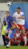 图文:克罗地亚1-0波兰 克拉什尼奇争
